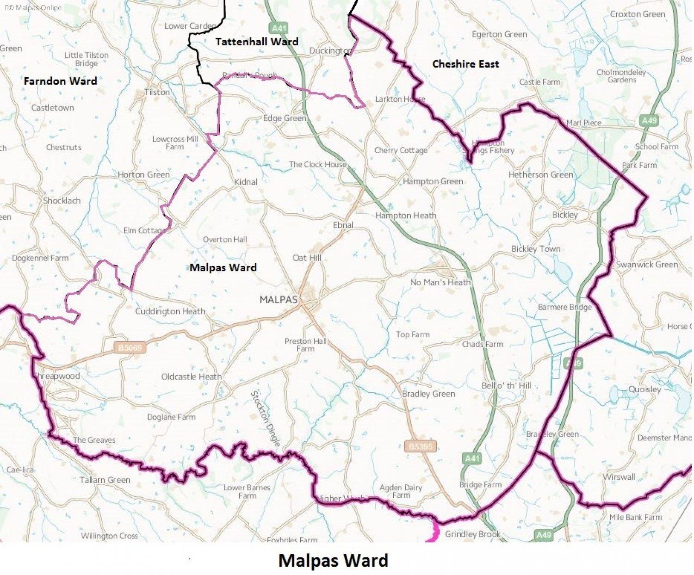 malpas-ward-boundary-map